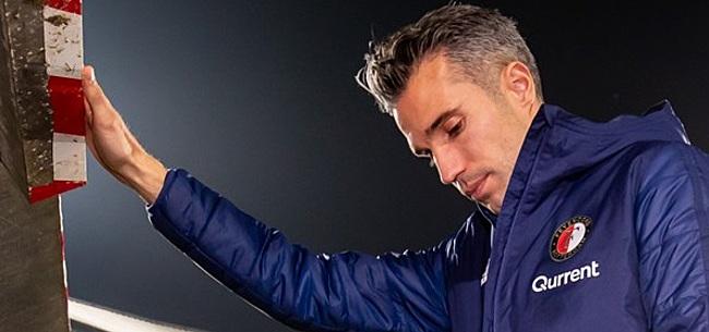 Foto: Feyenoord bevestigt: Van Persie beëindigt loopbaan zondag al