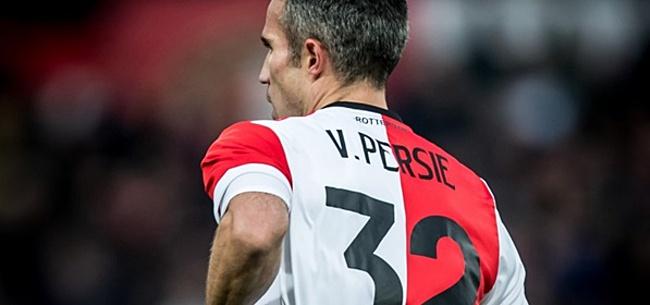 Foto: 'Alle Eredivisie-spelers moeten eigenlijk naar Van Persie kijken'