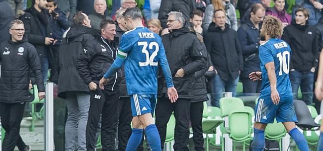 Foto: 'Fans van hulpeloos Feyenoord moeten zich zorgen gaan maken'