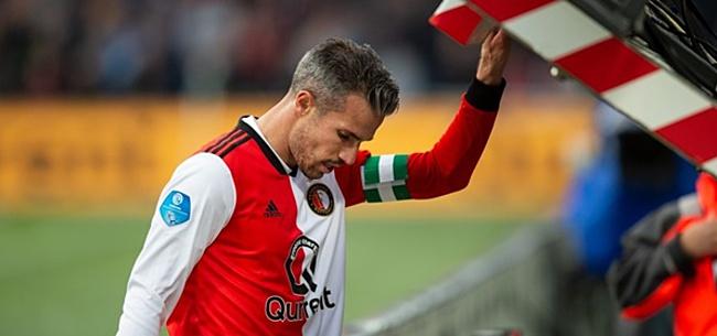 Foto: De 11 namen bij Feyenoord en VVV: Van Persie in de basis