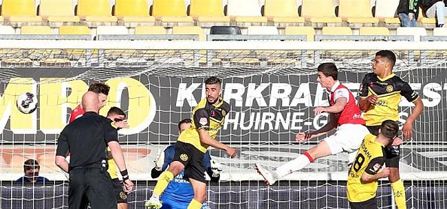Foto: Roda dreigt met maatregelen na beladen Limburgse derby