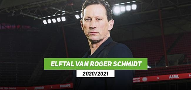 Foto: LEESTIP: Het PSV van trainer Roger Schmidt in seizoen 2020/2021