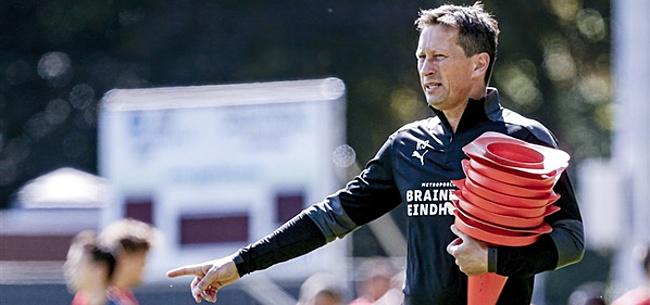 Foto: Verbazingwekkende taferelen op trainingsveld PSV na komst Schmidt