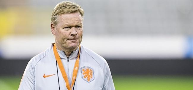Foto: Oranje-fans boos op Koeman: