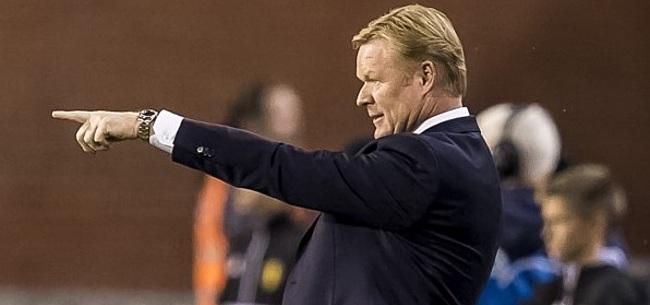 Foto: Koeman neemt zéér verrassende naam op in voorselectie Nederlands elftal