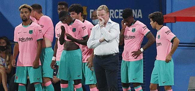 Foto: 'Koeman niet 'happy' met situatie bij Barcelona'