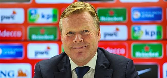 Foto: 'Koeman neigt steeds meer naar Oranje-debutant'