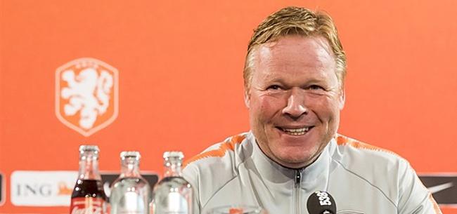 Foto: 'Koeman zorgt voor enorme verrassing met opstelling Oranje'