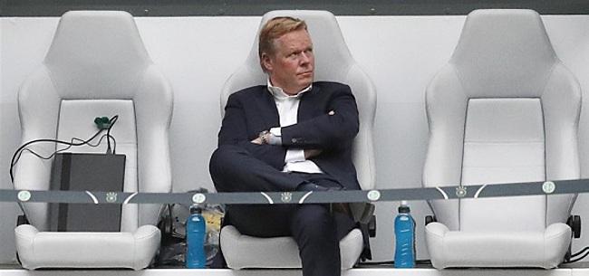 Foto: Oranje-fans bibberen: 'Koeman is gek geworden'