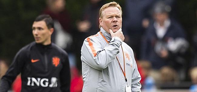 Foto: 'Koeman zorgt mogelijk voor omstreden keuze bij Oranje'