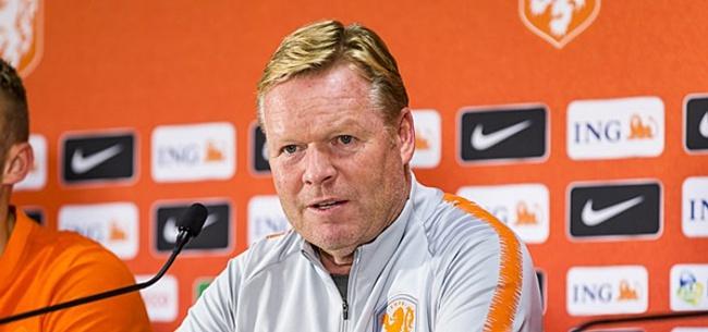 Foto: Koeman maakt definitieve selectie Oranje bekend: opvallende naam