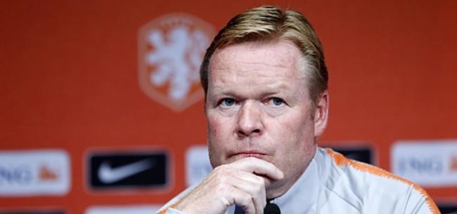 Foto: Koeman: 'Ik vond het wel mooi hoe Van Bommel reageerde'