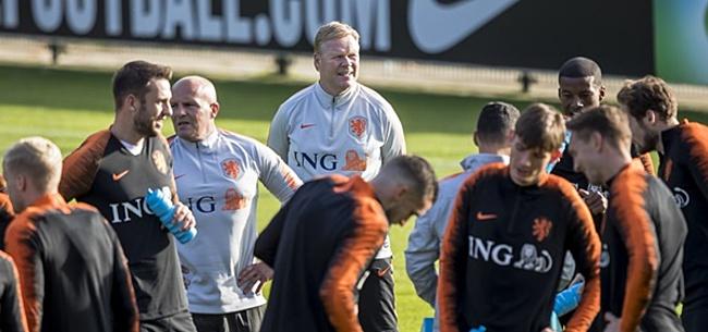 Foto: Verbazing over Oranje-selectie: 'Waarom zit hij erbij?'