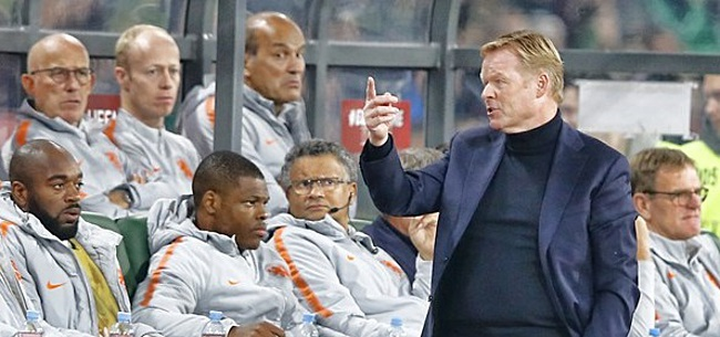 Foto: De 11 namen bij Oranje: Koeman kiest voor Malen en Ajax-invloed
