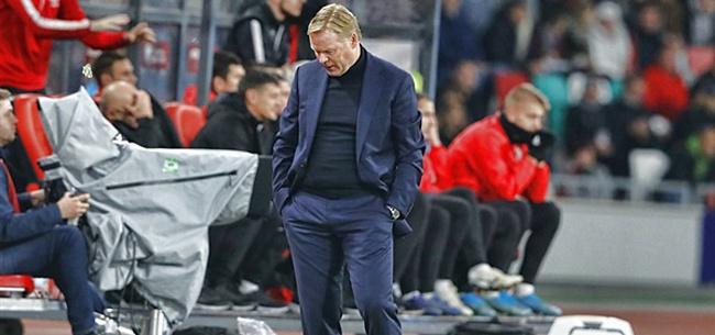Foto: 'Koeman heeft een enorme fout gemaakt bij Oranje'