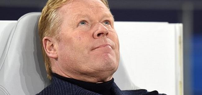 Foto: Koeman blikt terug: 'Daar had ik als trainer van Feyenoord al niet zo veel mee'