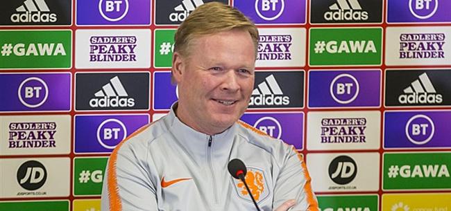 Foto: 'Koeman zorgt mogelijk voor extra verrassing in Oranje-basis'