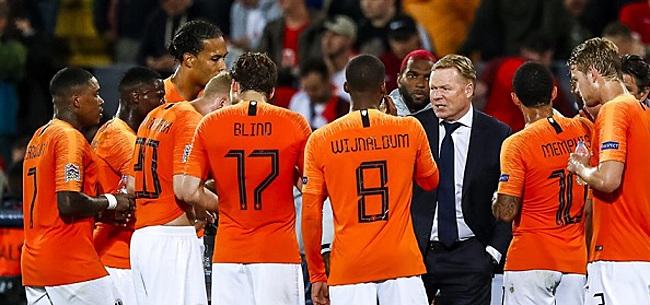 Foto: De 11 namen van Oranje: Koeman kan De Jong 'gewoon' inzetten