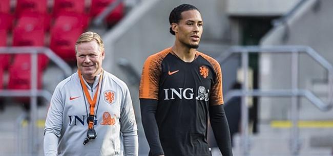 Foto: Koeman blij met Oranje-international: