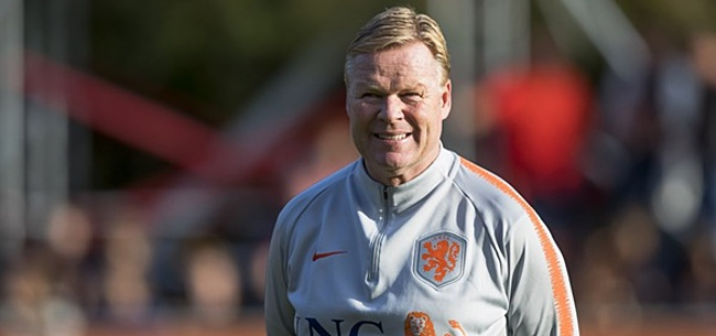 Foto: Koeman verrast mogelijk flink met opstelling Nederlands elftal
