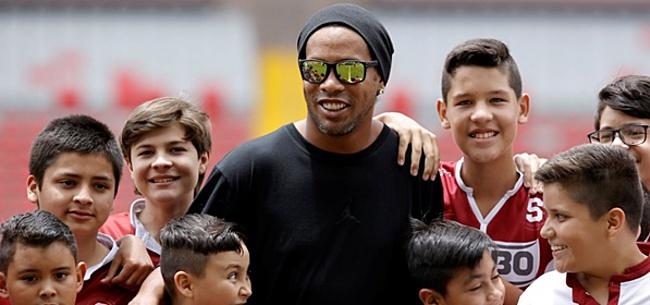 Foto: Ronaldinho weigert te betalen en zit vast in Brazilië