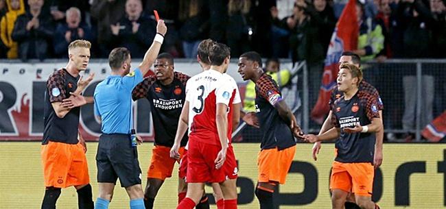 Foto: Fans woedend op PSV'ers: '450 wedstrijden schorsing'