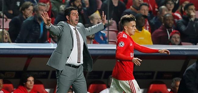 Foto: Benfica-trainer rept van lucky Ajax: 'Wij hadden de overwinning verdiend'