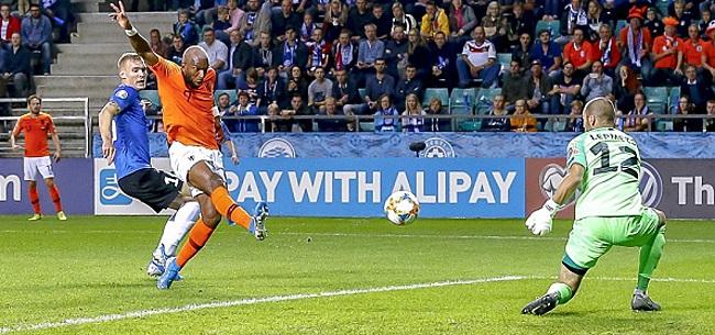 Foto: Oranje wint na dubbelslag Babel eenvoudig in Estland