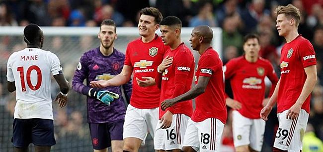 Foto: Liverpool blijft dankzij late gelijkmaker bij United ongeslagen