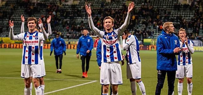 Foto: 'Lammers en Vlap niet meer te behouden voor Heerenveen'