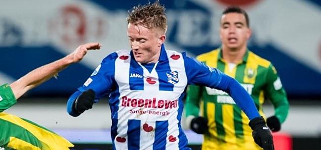 Foto: Lastpak Larsson is in genade aangenomen bij sc Heerenveen