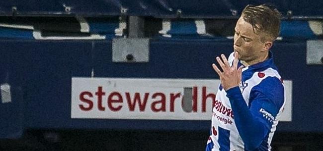 Foto: 'Deze club meldt zich als eerst bij Heerenveen voor Larsson'