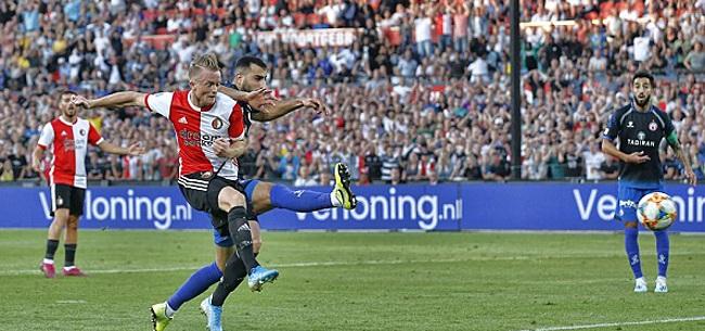 Foto: Feyenoord zet goede uitgangspositie neer in eigen Kuip