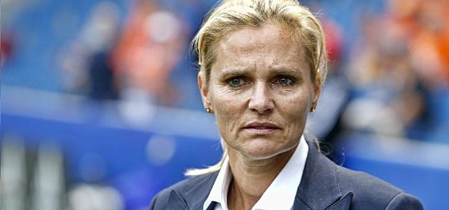Foto: Wiegman hoopte op Seedorf: 'Helaas lukte dat niet'