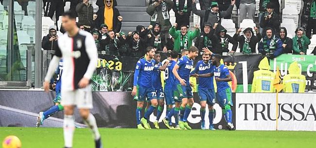 Foto: Wederom geen zege Juventus na chaotisch optreden tegen Sassuolo