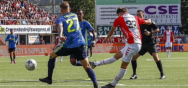 Foto: Fans maken gehakt van Feyenoorders: 'Helemaal klaar met die twee'
