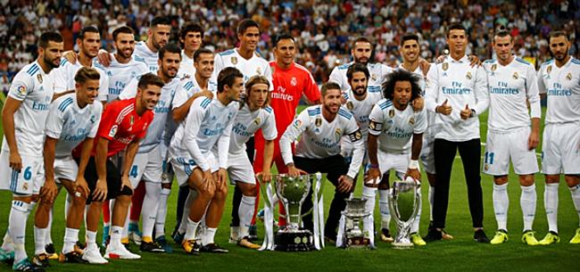 Foto: 'Real-speler botst met Zidane in kleedkamer'