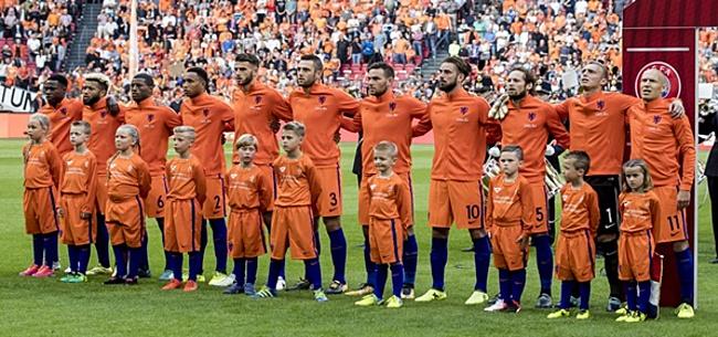 Foto: KNVB strikt grote namen voor Oranje-oefenpotjes