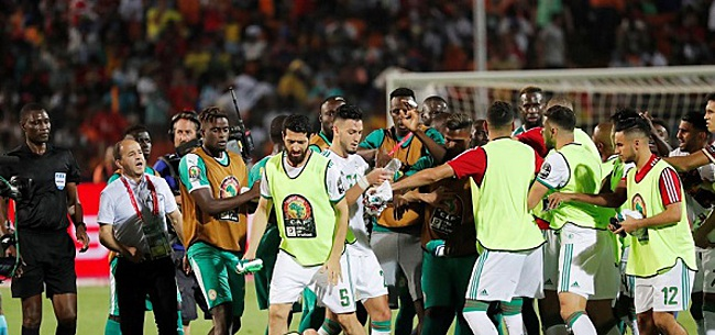 Foto: Algerije nummer één van Afrika na razendsnelle treffer