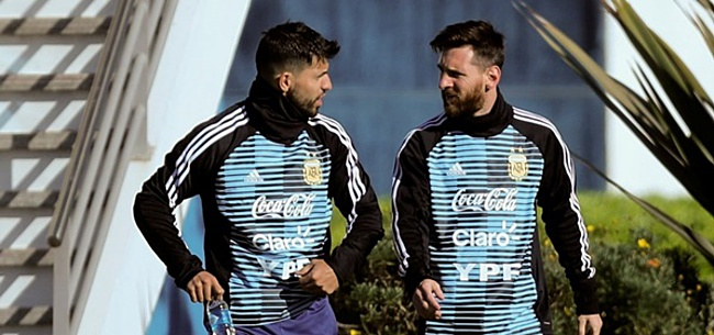 Foto: 'Pissige superster verdwijnt uit elftal Argentinië'