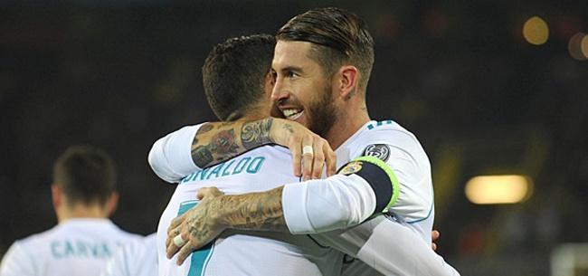 Foto: 'Sergio Ramos krenkt Cristiano Ronaldo met opmerkelijke actie'