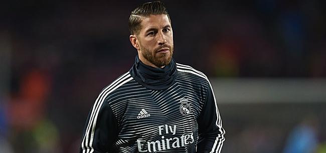Foto: 'Sergio Ramos choqueert Real Madrid met mededeling'
