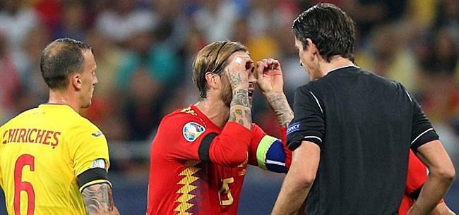 Foto: Ramos doet beladen oproep in Spanje: