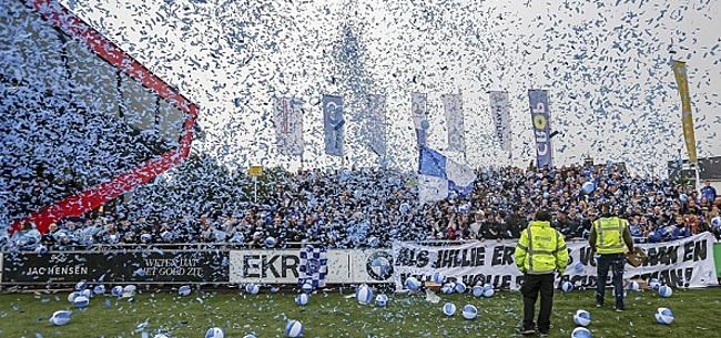 Foto: KNVB schorst Spakenburg-speler voor handvol wedstrijden