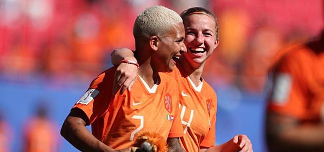 Foto: Oranje tegen Amerika: