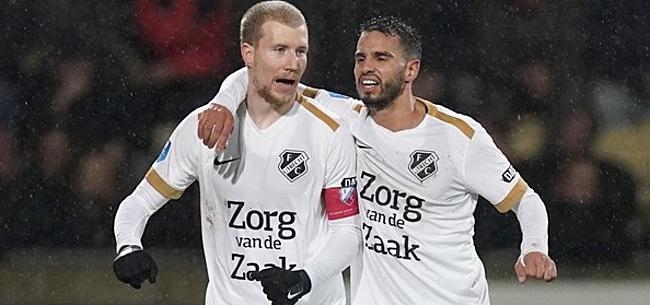 Foto: FC Utrecht treft Ajax in halve finale na winst in Deventer