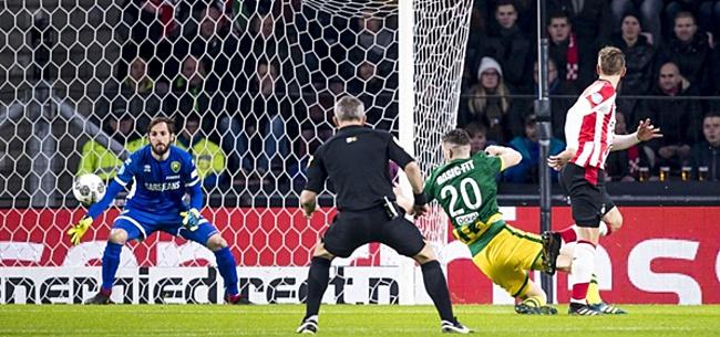 Foto: KNVB denkt nu wél mee met PSV: Eredivisiewedstrijd tegen ADO verzet