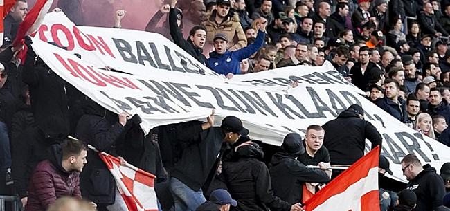 Foto: 'Absurde' onrust bij PSV: supporters komen in opstand