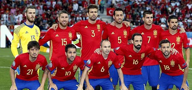 Foto: 'Spelersgroep Spanje verdeeld: 'Kamp-Real' wist ervan'