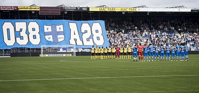 Foto: FOTO: Bakken met kritiek op veld PEC Zwolle
